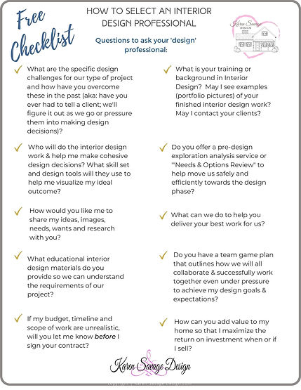 How to select a design professional by K