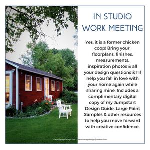 In studio design meeting