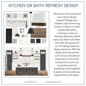 kitchen and bath refresh design karen savage design