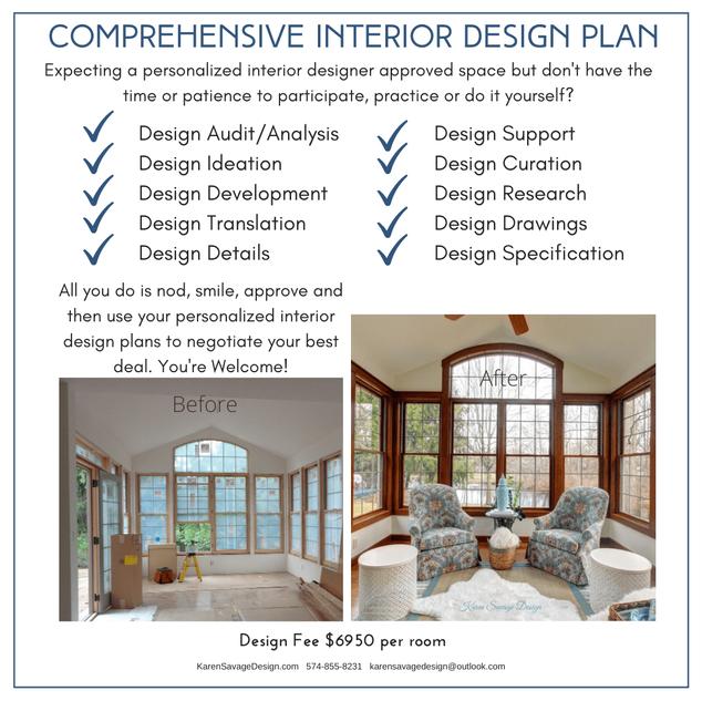 Comprehensive Interior Design Planning