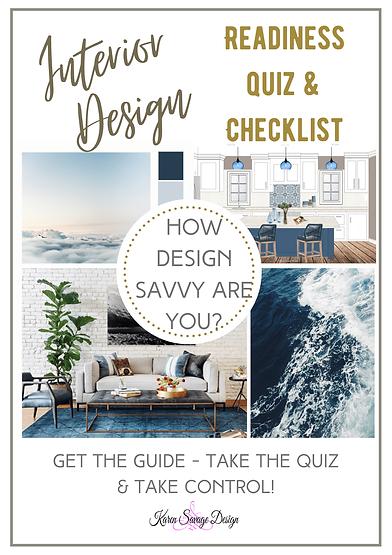 Design Readiness Quiz & Planning Checkli