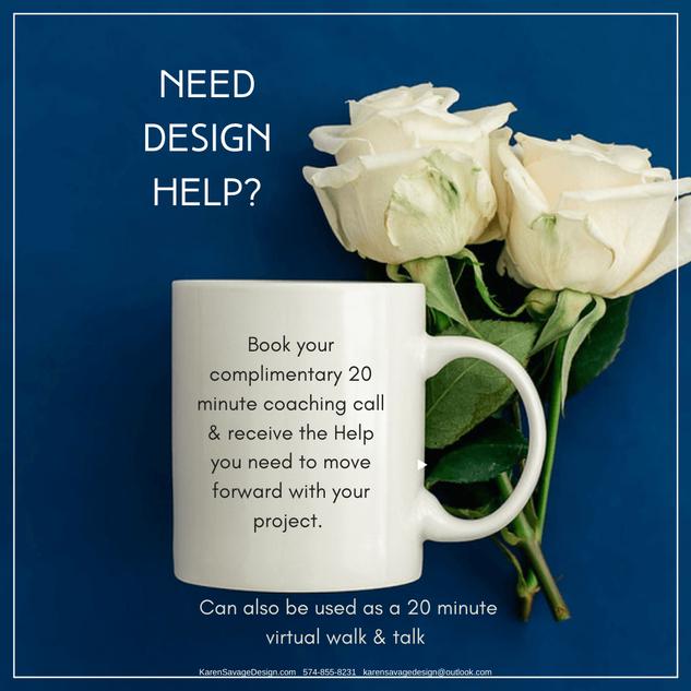 Need Design Help? I Got Your Back!