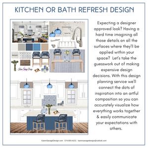 Kitchen & Bath Refresh Design