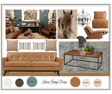 Rustic Living Room Design Map #7 Style Solutions Karen Savage Design