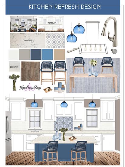 Kitchen refresh design website jan 2021.