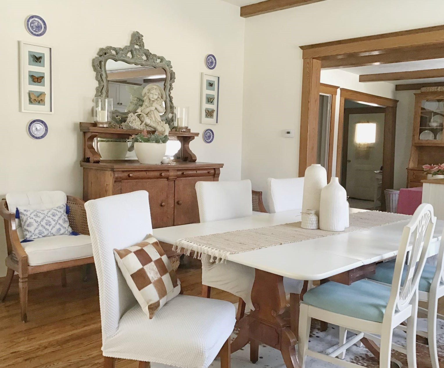 Refined Rustic Farmhouse Style Middlebury IN Karen Savage Design