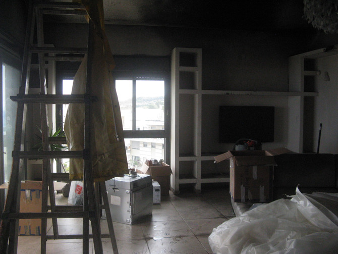 איך להימנע מהוצאות לא מתוכננות בעת שיקום הבית מנזקי שריפה