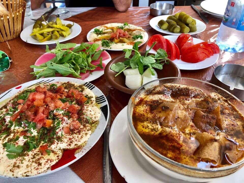 Syrian style breakfast