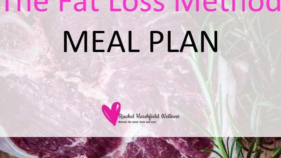 The Fat Loss Method 3 meal plans in one