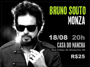 "Bruno Souto divulga cd ""Forte"""