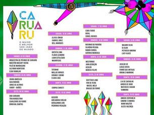 Junho chegou - Confira a programação de Caruaru, Bezerros e Gravatá