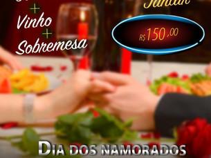 Dia dos Namorados, escolha onde quer comemorar: Barito Fondue; Hotel Portal; Pé de Moleque; Taverna