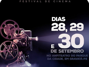 1º Festival de Cinema Kino Minuto será exibido em Gravatá