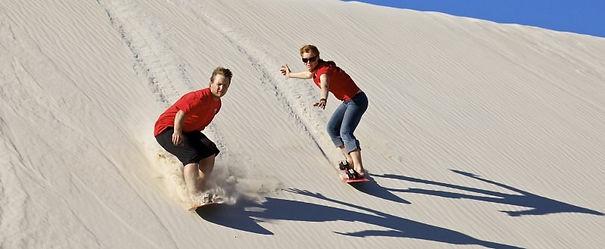 Little Sahara Sand Boarding Kangaroo Island