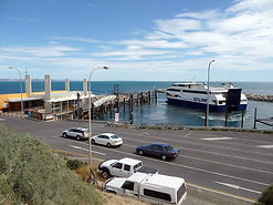Sealink Ferry Terminal at Penneshaw on Kangaroo Island