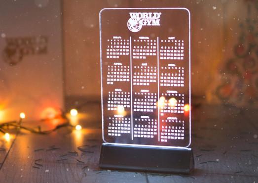 Календарь-акрилайт