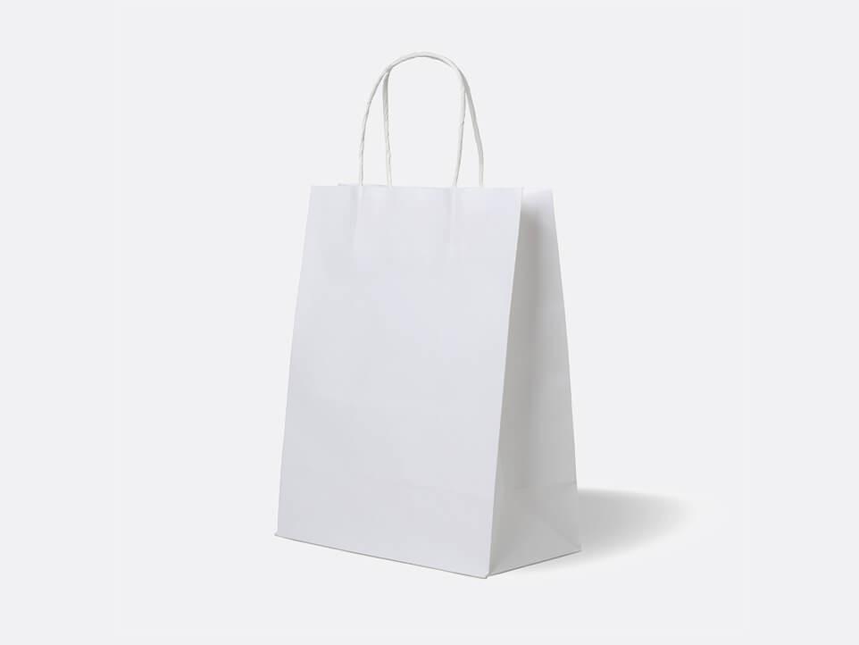 Крафт пакет белый