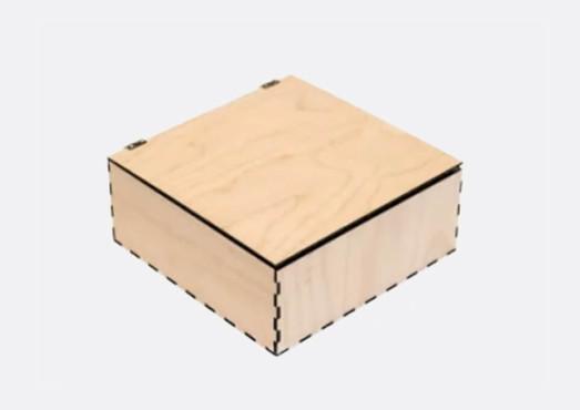 Коробка с откидной крышкой