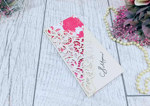 VIP-открытки на дизайнерской бумаге