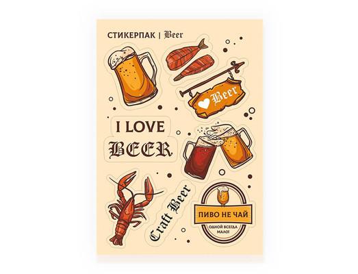 """Стикерпак """"Beer"""""""