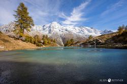 Lac Bleu Arolla