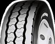 Semi-trailer truck tyres (YOKOHAMA RY537 Urban - All Position Tyre