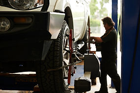 Ute tyre alignment