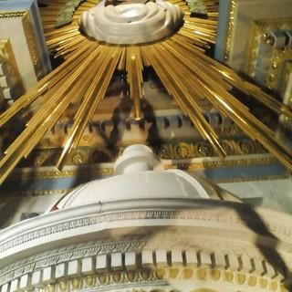 Detalle de reconstrucción de Altar