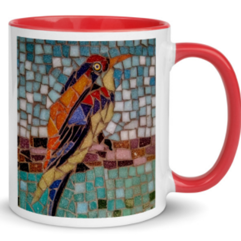 Art Mugs - Colourful Birds
