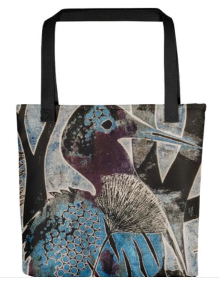 Tote Bags - Egrets
