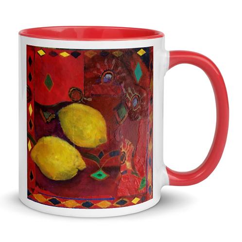 Art Mugs - Lemons