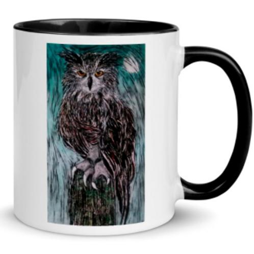 Art Mugs - Owls