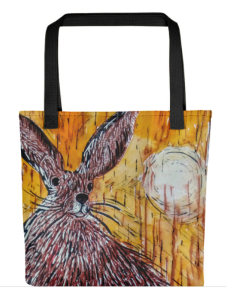 Tote Bags - Hares