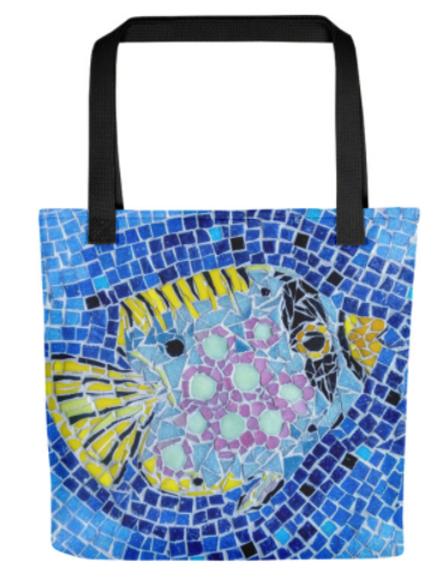 Tote Bags - Fish