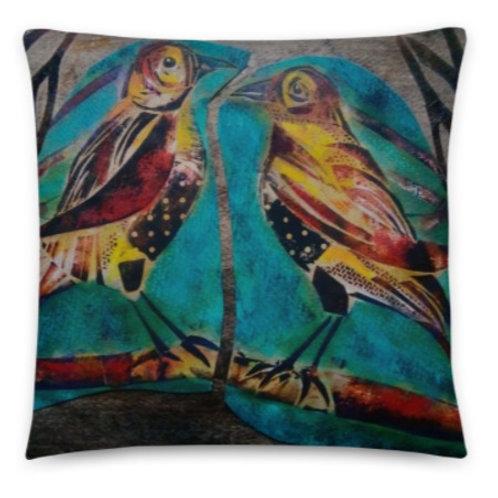 Cushions -Birds