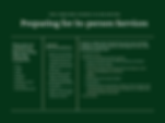 Green and White Covid-19 Guidelines Post