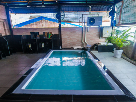 Public Large Bath and Sauna Package