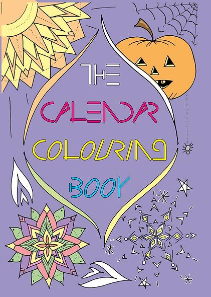 2021 Calendar Colouring Book