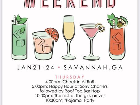 Bachelorette Party: Savannah, GA