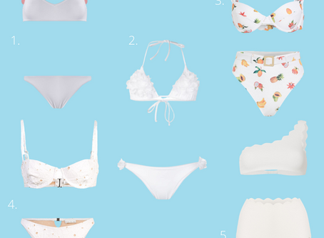 Our Top 5 White Bikinis For Your Bachelorette and Forever After