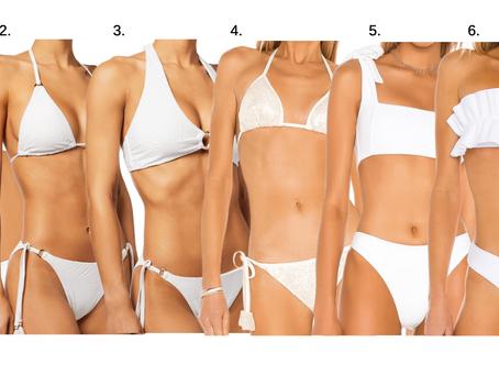 Our Favorite White Bikinis