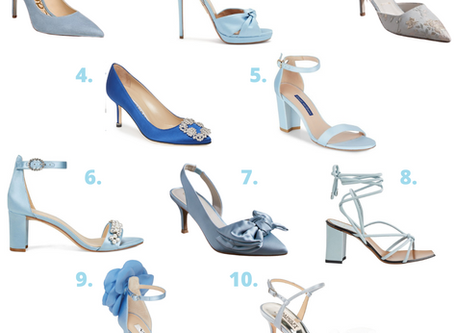 The Perfect 'Something Blue' Shoes For Your Wedding Celebrations