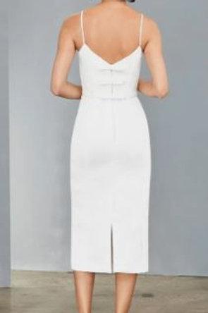 Amsale Bow Back Dress