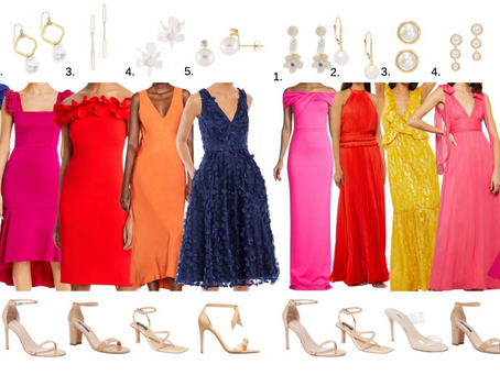 Wedding Guest Guide Series: 5 Cocktail and 5 Black Tie Looks