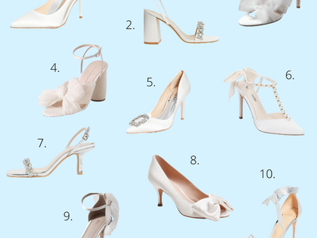 Our Top 10 Wedding Shoes That Won't Break The Bank