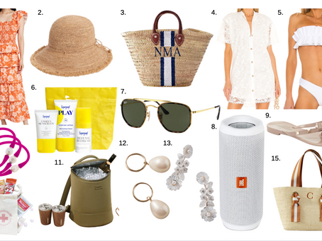 Honeymoon Vacation Essentials