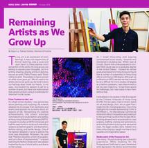 Remaining Artists as We Grow Up | Hong Kong Lawyer | October 2019
