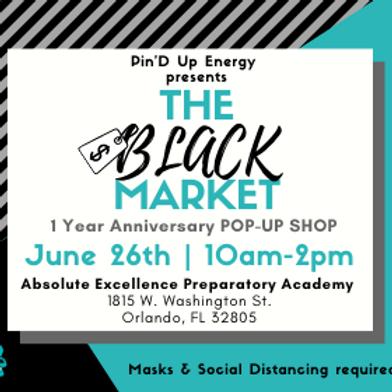The Black Market Pop Up Shop