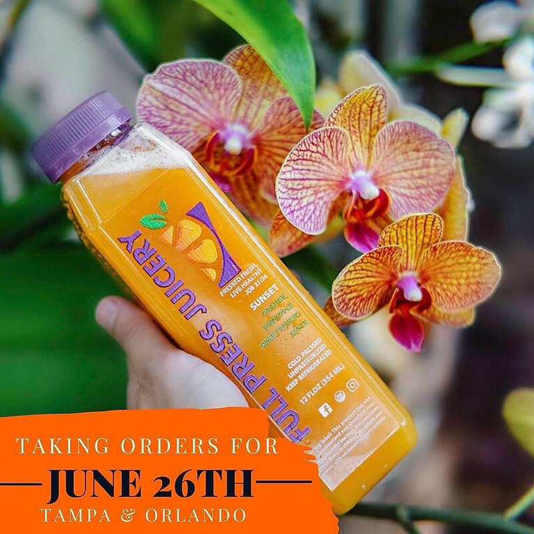 Saturday June 26th Juice Pick Up