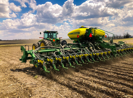 What's our Yield Potential for May Planted Corn and Soybeans?